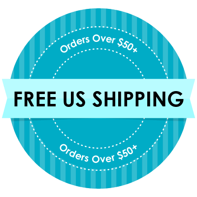 Free Shipping in the US on orders $50 or more