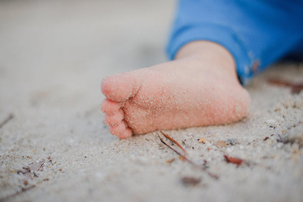 How to remove sand from babies easily
