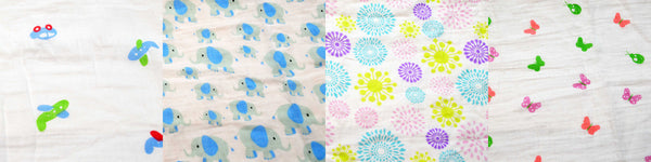 Easy Baby Swaddle and Bibs Patterns