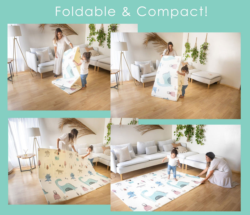 *New* Easy Mat - Foldable, Reversible Kids Play Mat
