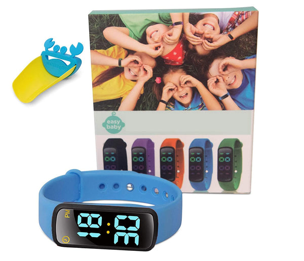 EZ Baby - Toddler Potty Training Watch - Non-Toxic, Waterproof, Rechargeable, Fun and Exciting Potty Training- Boys, Girls