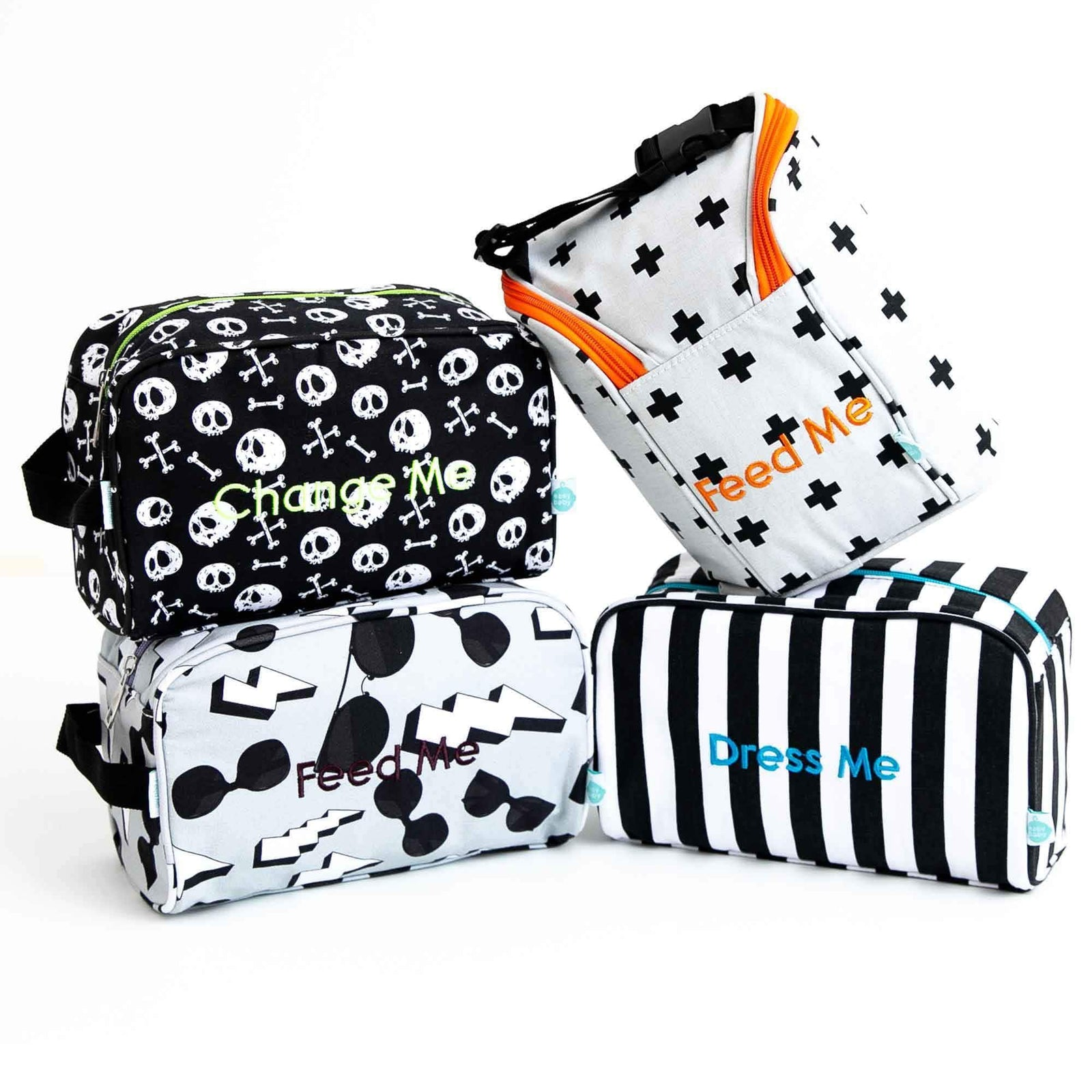 8931381283 Detroit Rock City Easy Baby Travelers Starter Set of 4 for Diapers