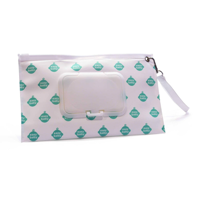 Easy Baby Wipes Case in Easy Baby Logo Pattern - Diaper Bag Organizer - Easy Baby Travelers