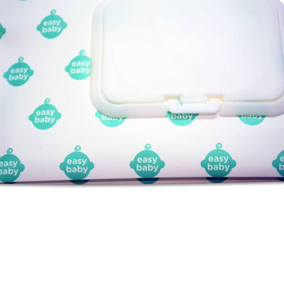 Easy Baby Wipes Case in Easy Baby Logo Pattern