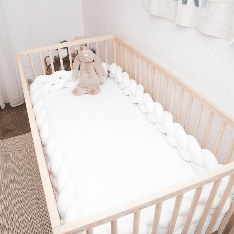 Easy Bumper - Ultra Thick Crib Knotted Bumper
