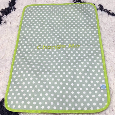 Laguna Beach Polka Dot Easy Baby Travelers Complete Set of 8 - Diaper Bag Organizer Complete Set - Easy Baby Travelers