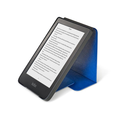Kobo Clara HD with blue SleepCover
