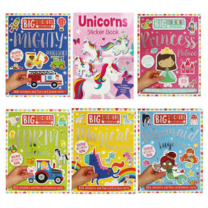 Sticker Book Collections for Kids