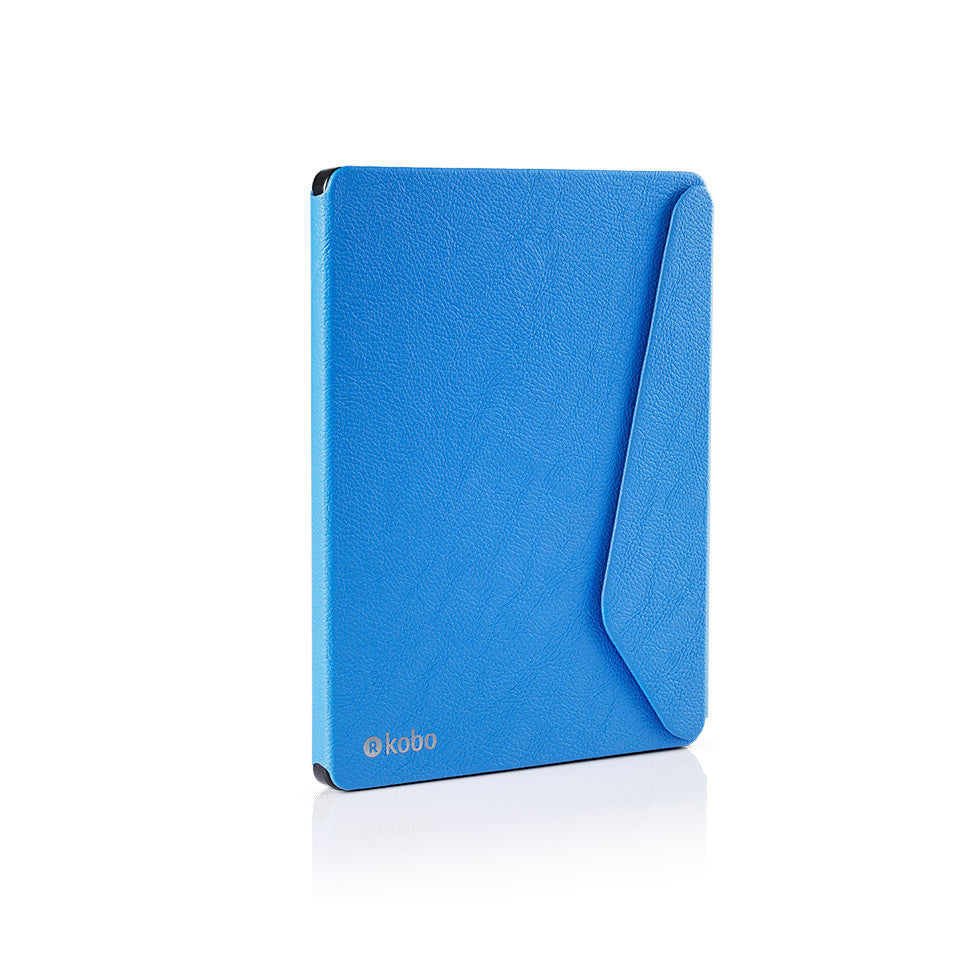Kobo aura h2o edition 2 sleepcover blue rakuten kobo for Housse kobo aura h2o edition 2