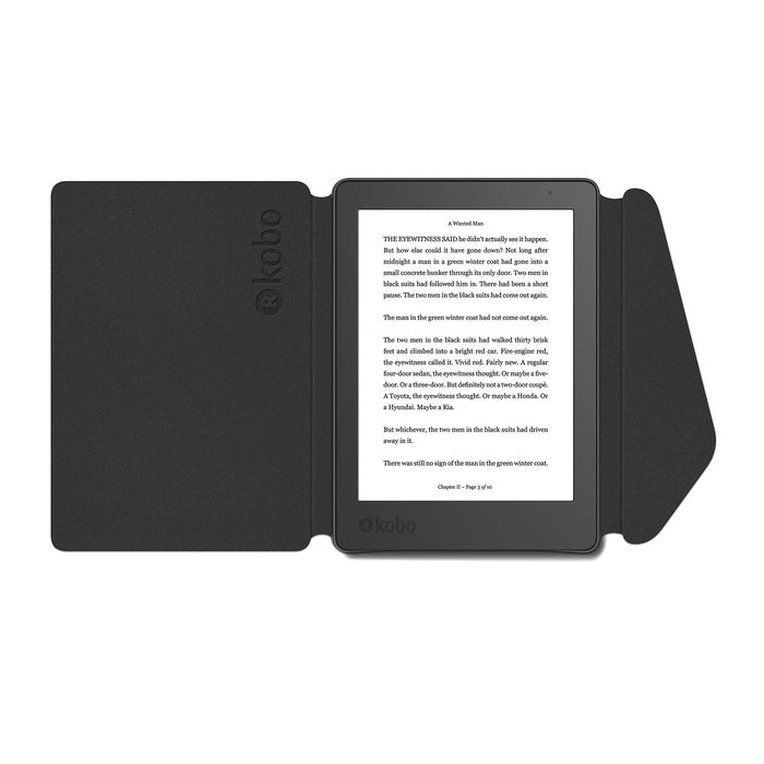 Kobo Aura Edition 2 and black SleepCover
