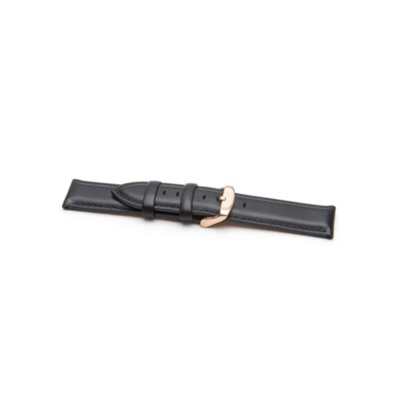 Authentic Daniel Wellington Watch Strap Sheffield Rose Black 0307DW