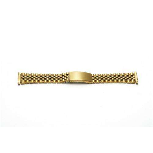Watch Bracelet Gold Plated10mm-22mm