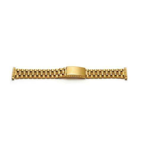 Watch Bracelet Gold Plated 10mm-22mm