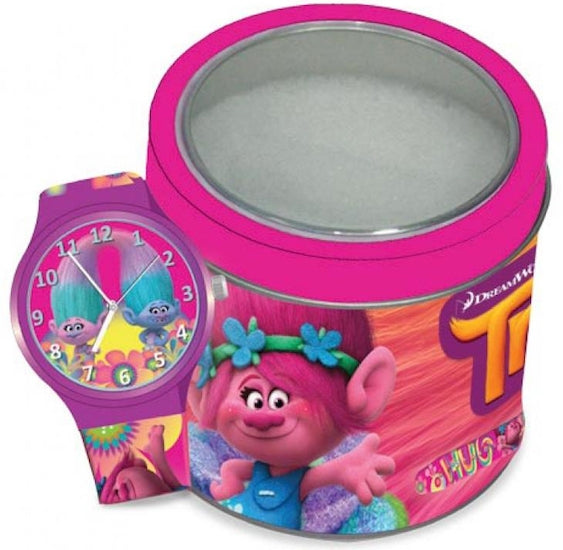 Disney Watch TROLLS - Tin Box 504602