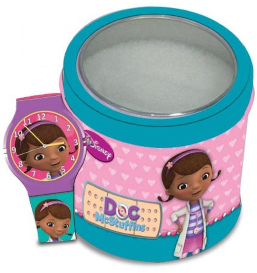 Disney Watch DOC MCSTUFFINS  Tin Box 561146