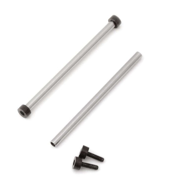 Strapcode Tubes and PVD Black Hex Head Screws for Bell & Ross BR-01 (one pair)
