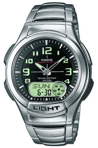 Casio Watch  ILLUMINATOR AQ-180WD-1B