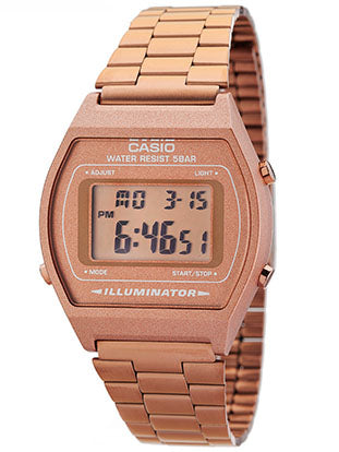 Casio Watch VINTAGE UNISEX COPPER B-640WC-5