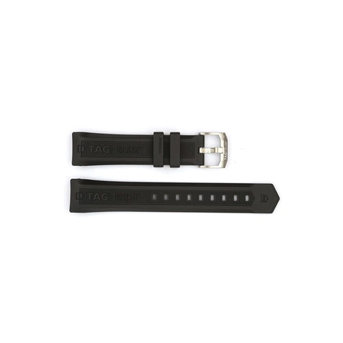 Authentic TAG Heuer Watch Strap Rubber 20mm BT0710