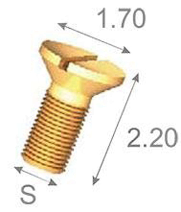 Rolex Generic Tap 8 (Ø0.80mm) Case Back Screw
