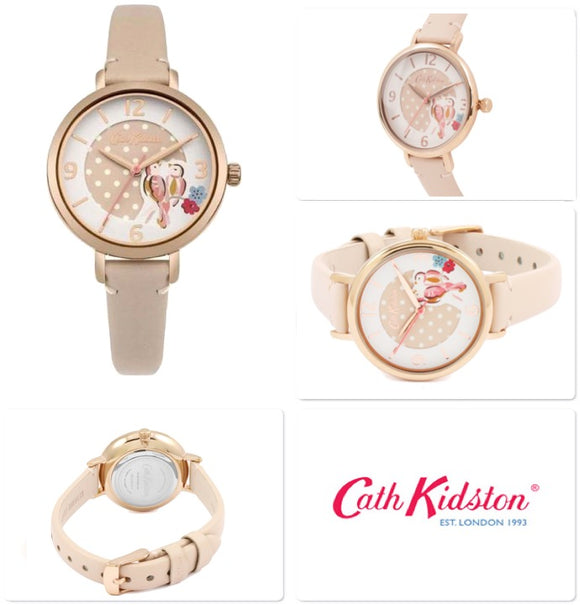 Cath Kidston Watch PAINTED BIRDS CKL035CRG