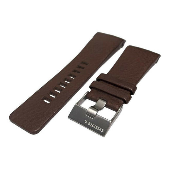 Authentic Diesel Brown Leather Watch Strap Diesel DZ1179