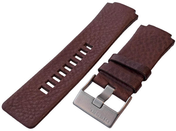 Authentic Diesel Brown Leather Watch Strap Diesel DZ1145
