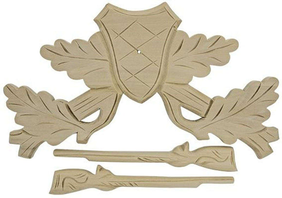 Cuckoo Clock Top Crown Riffles