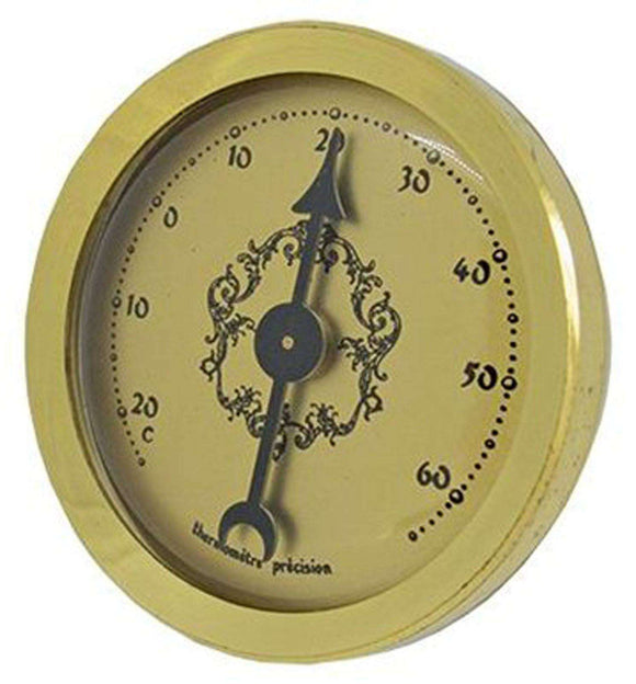 Thermometer Inserts with Gold Dial Ø36mm x Ø32mm
