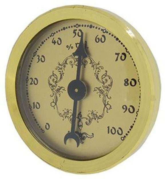Hygrometer Inserts with Gold Dial Ø36mm x Ø32mm