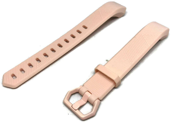 CLEARANCE Watch Strap for FITBIT ALTA Pink Silicone Rubber Sizes Small and Large