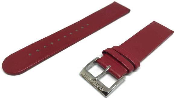 Authentic Mondaine Watch Strap Red 20mm FE1622030Q