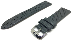 Authentic Emporio Armani Watch Strap Grey Leather for Armani AR1735