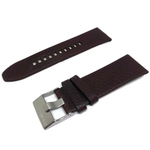 Authentic Diesel Leather Watch Strap Brown for DZ4290