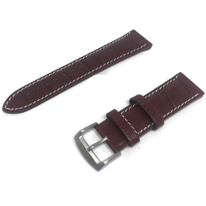 Authentic Citizen Watch Strap Brown Calf Leather for 59-S50838