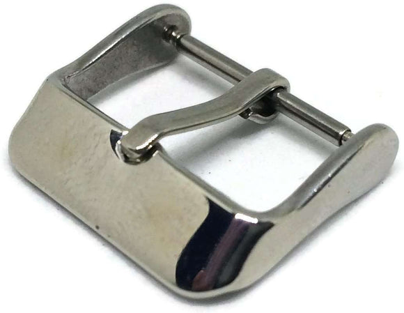 Watch Strap Buckle Stainless Steel Size 8mm to 20mm
