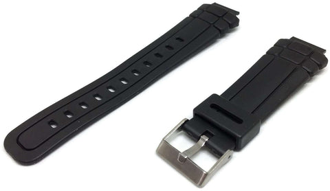 Casio Generic Watch Strap 16mm (23mm Overall Width) Stainless Steel Buckle