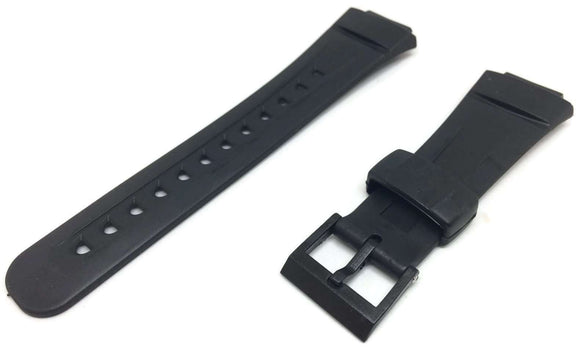 Casio Generic Watch Strap for Casio G Shock G2900 with Black Plastic Buckle