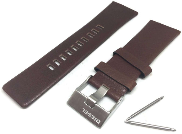 Authentic Diesel Brown Leather Watch Strap Diesel DZ4281