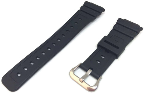 Authentic Casio Watch Strap for GW-M5610, W-5600, GW-M5610, G-5600, DW-5600 with Stainless steel Buckle