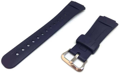 Authentic Casio Watch Strap Dark Blue for G-2900 with Stainless Steel Buckle