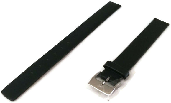Authentic Skagen Black Leather Watch Strap for 358XS and 271SSLB