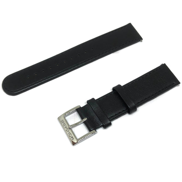 Authentic Mondaine Watch Strap Black 18mm FE311820Q5