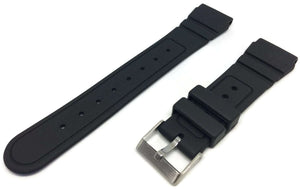 Diving Watch Strap 22mm (25mm Overall Width) Stainless Steel Buckle