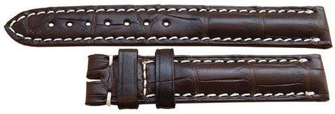 Longines Watch Strap 14mm Brown Alligator