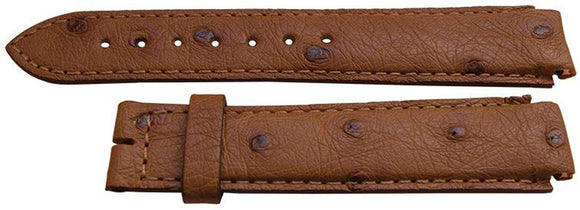 Longines Watch Strap 19mm Cognac Ostrich