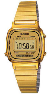 Casio Watch VINTAGE LADY GOLD LA-670WG-9