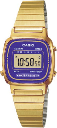 Casio Watch VINTAGE LADY GOLD LA-670WGA-6