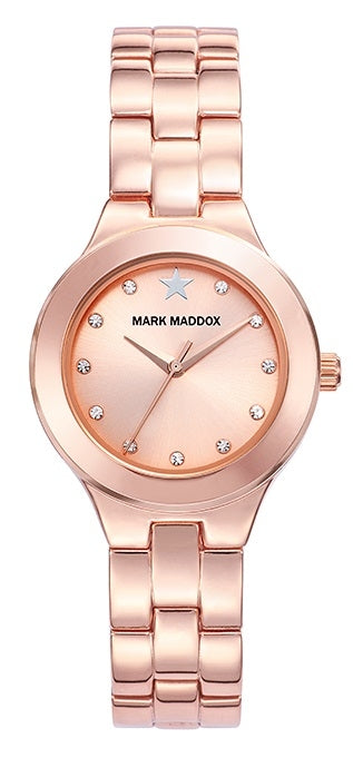 Mark Maddox Watch PINK GOLD MM7010-97