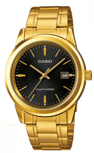 Casio Watch SOLAR POWERED MTP-VS01G-1A